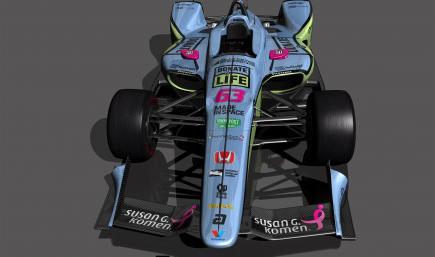 Indycar Dallara IR18 Pippa Indy2018