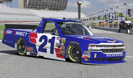 Johnny Sauter ISM Connect (Charlotte 2018)