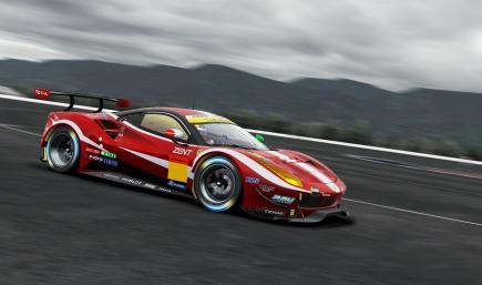 #50 INGING & Arnage Racing Ferrari 488 (Super GT)