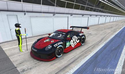 B2O Porsche 911 RSR Unofficial Livery