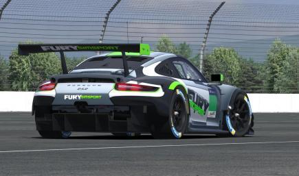 FURY Simsport Porsche 911 RSR (test)