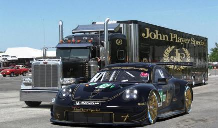 Porsche 911 RSR JPS
