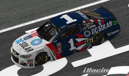 DC Solar RWB Daytona