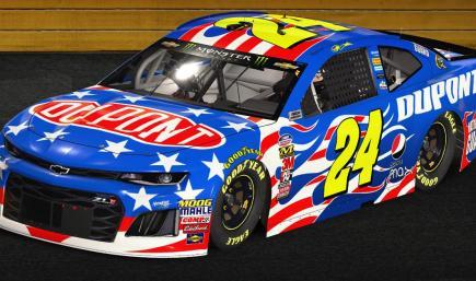 #24 Jeff Gordon Patriotic Classic