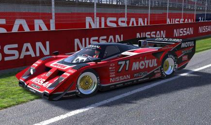 Motul Nissan GTP ZX-T