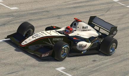 McLaren MP4-20 - Formula Renault 3.5
