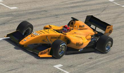 McLaren MP4-20 (Test Livery) - Formula Renault 3.5