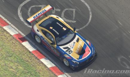 Mercedes GT3 AMG Repsol