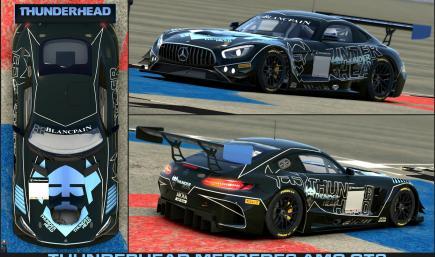 THUNDERHEAD Mercedes AMG GT3 - Blancpain GT Series - AKKA ASP Team