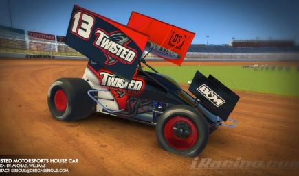 Twisted Motorsports House Winged Sprint Car by Design Serious