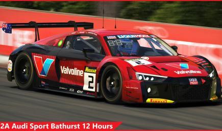 #2A Audi Sport Bathurst 12H