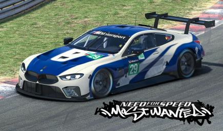 BMW M8 GTE NFS Most Wanted Edition