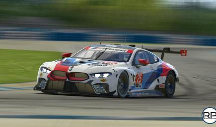 2019 BMW Team RLL IMSA #25