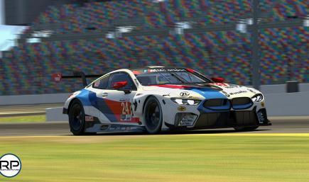 2019 BMW Team RLL IMSA #24 Daytona Livery