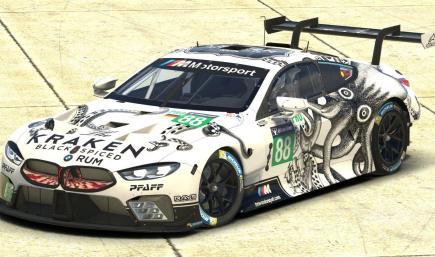 BMW M8 GTE Kraken