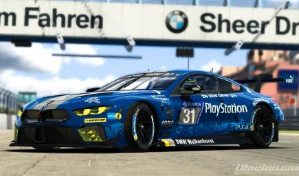 Walkenhorst Motorsport PlayStation BMW M8 GTE ver.2