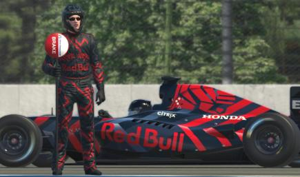 F1 Red Bull Launch suit 2019