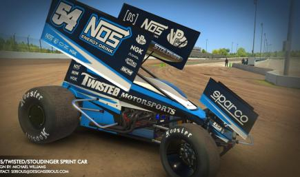 NOS/Twisted/Stoudinger Winged Sprint Car