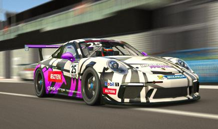IRONFORCE Porsche 911 Cup GT3 2019
