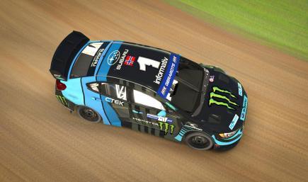 RX Cartel Andreas Bakkerud Style Subaru WRX STi