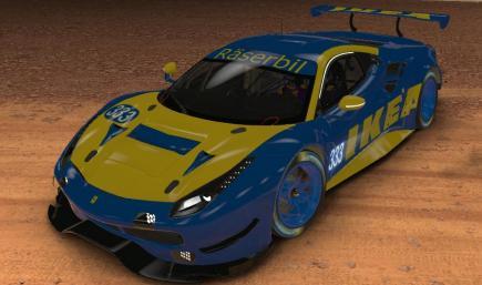 Ikea Ferrari 488 GTE