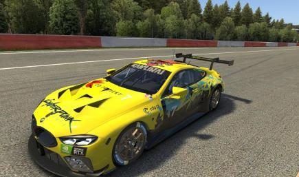BMW M8 GTE Cyberpunk 2077