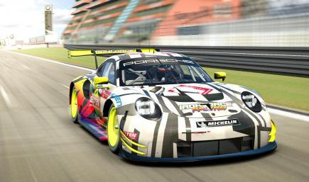 Ironforce Porsche 911 RSR 24h NBR