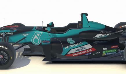 F3 Yamaha Petronas SRT - without number