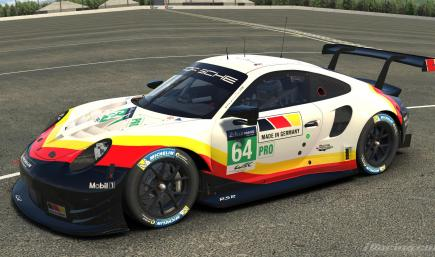 Porsche 911 RSR Made in Germany