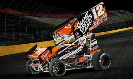 Champ Drives Cars powered Dirt Sprint Car