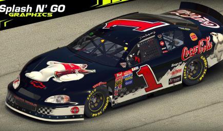 Dale Earnhardt Jr Coca-Cola Monte Carlo *Custom Number* v2