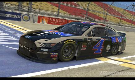 2019 Kevin Harvick Mobil 1 Michigan With Number