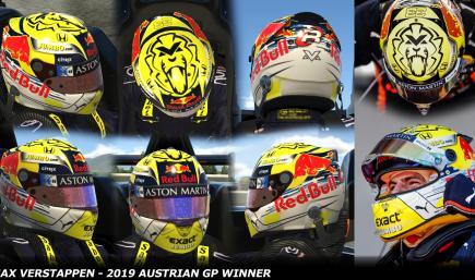 Max Verstappen 2019 - Austrian GP Winner