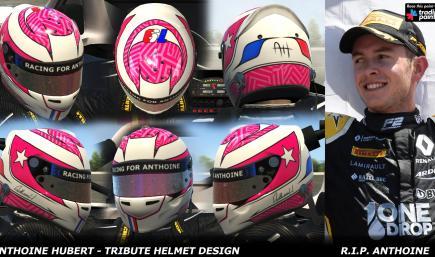 Anthoine Hubert - 2019 Tribute Helmet Design - R.I.P Anthoine