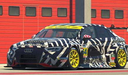 AUDI RS3 RB Dazzle Camouflage