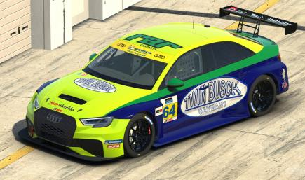 Twin Busch Audi RS3