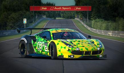 FBP Racing | Ferrari 488 GTE