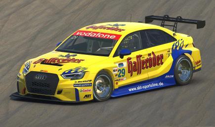 ABT Hasseröder DTM 2002 BLUE - Audi RS 3 LMS
