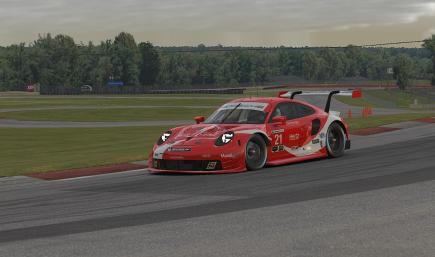 2019 Petit Le Mans Coca Cola Porsche