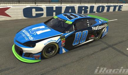 #88 Vegas Nationwide NO NUMBER