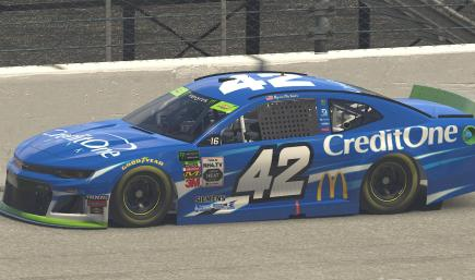 2019 Kyle Larson Credit One Bank Chevy ZL1 Playoff Version