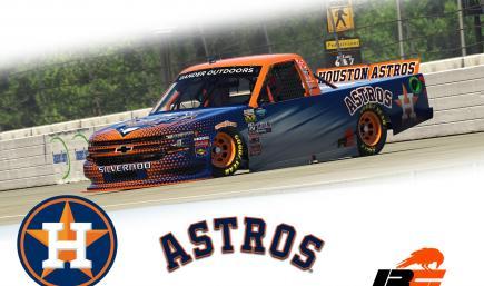 Astros Chevrolet Silverado Truck 2020 v2 TP