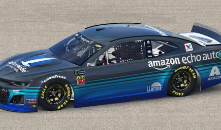 2019 Alex Bowman Amazon Echo Chevrolet Camaro