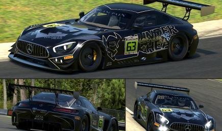 V2.0 THUNDERHEAD Mercedes AMG GT3 - Blancpain GT Series - AKKA ASP Team