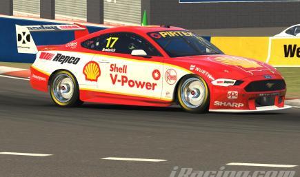 Scott McLaughlin #17 Shell V Power 2019 Virgin Australia Supercars Championship