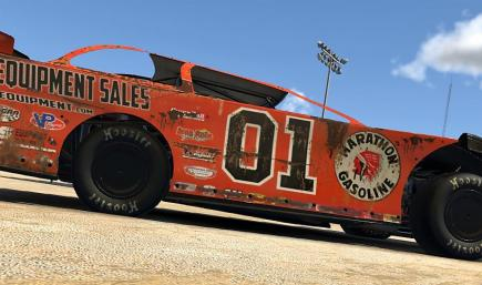MIKE MARLAR GENERAL LEE CAR WITHOUT NUMBERS