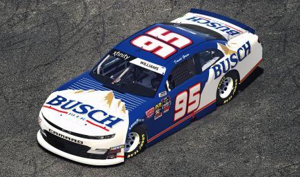 1995 David Green Busch Chevy Camaro