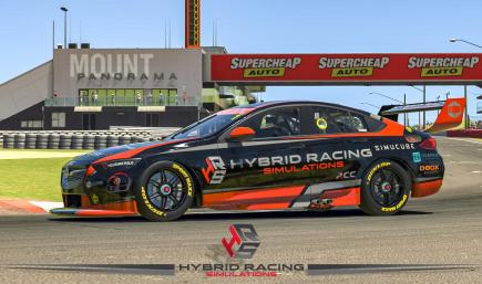 Hybrid Racing Simulations - Holden ZB Commodore Black