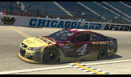 2015 Kevin Harvick Outback With Numbers