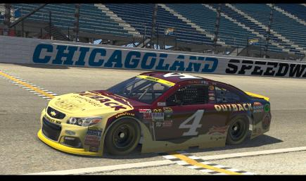 2015 Kevin Harvick Outback Chase With Numbers
